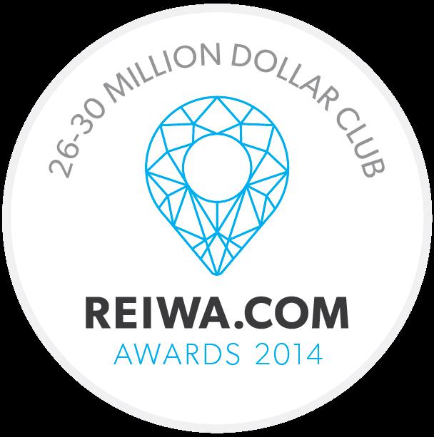 26-30 MILLION DOLLAR CLUB - REIWA.COM AWARDS 2014